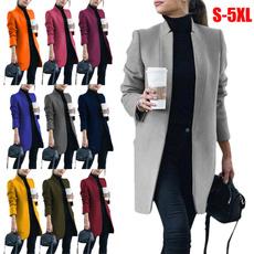 Casual Jackets, Fashion, autumnwinter, slim