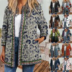 Jacket, Plus Size, Ethnic Style, Vintage Style