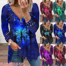 butterfly, Plus Size, womens dresses, Shirt