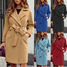 Plus Size, Long Sleeve, winter fashion, Pocket