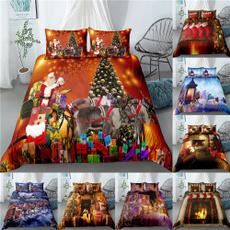 Decor, kingsizebeddingset, beddingsetsqueen, Christmas