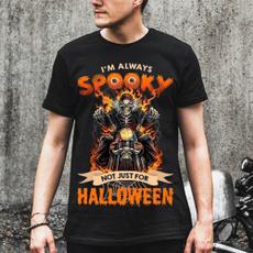 motorcycleshirt, halloweengift, skulltshirt, Halloween Costume