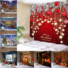 christmastapestry, Christmas, hangingtapestry, livingroomdecor