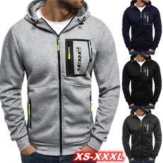 Fashion, zipperjacket, Coat, Slim Fit