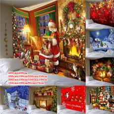 Decor, christmastapestry, Wall Art, Home Decor