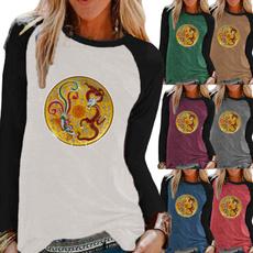 Fashion, Graphic T-Shirt, Women Blouse, for girls