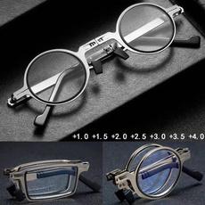 Blues, case, lights, presbyopicglasse