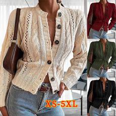 Jacket, cardigan, knittedjacket, Winter