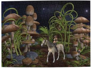 horse, Toy, puzzlesgame, fantasy