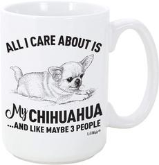 Funny, Coffee, chihuahua, Love