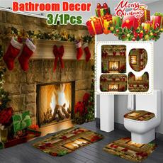 Shower, Bathroom, duschvorhangset, bathroomrugsset