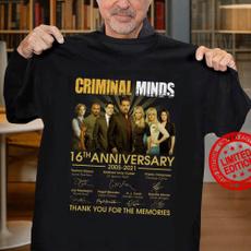 Short Sleeve T-Shirt, Cotton Shirt, 20052021criminalmind, menwomentshirt