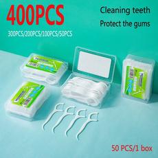cleaningteeth, dentalflossstick, dentalflos, Plastic