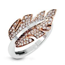 elegantring, leaf, wedding ring, gold