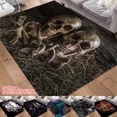 doormat, Rugs & Carpets, skullrug, skull