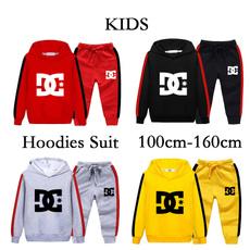 kidshoodieset, kidshoodie, letter print, Fashion