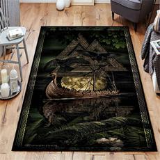 viking, doormat, Horror, axe