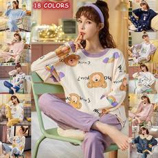 women's pajamas, Plus Size, cute, Long Sleeve