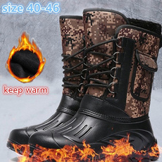 combat boots, Plus Size, Leather Boots, Hiking