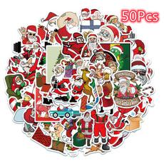 snowman, Christmas, Gifts, Santa Claus
