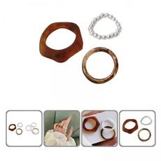 fauxpearlsring, Women Ring, geometricring, vintage ring