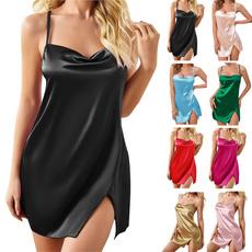Underwear, nightgownsampsleepshirt, sexynightgown, Halter