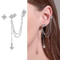 Cubic Zirconia, Tassels, Star, Jewelry