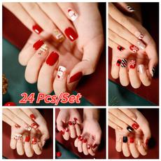 nail decoration, acrylic nails, Shorts, nail tips