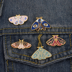 butterfly, starpin, cartoonanimaljewelry, Pins