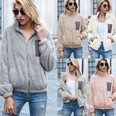 Fleece, Fashion, Winter, loose top