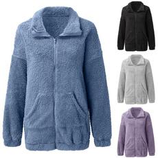 woolen, fur coat, Fleece, cardigan