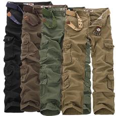 Plus Size, Casual pants, pants, camouflagepant