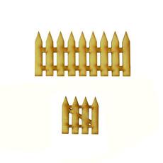 handicraft, Garden, fence, Wooden