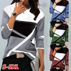Fashion, long sleeve blouse, Necks, Sleeve