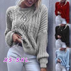 knitwear, Plus Size, Necks, Sleeve