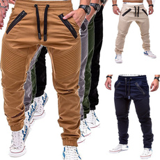 Training, men trousers, Casual pants, Fitness