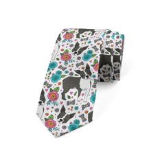 casualslimplainweddingtie, Flowers, Necks, Necktie