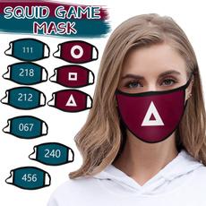 cottonfacemask, adultfacemask, Cotton, squidgamefacemask
