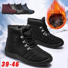 non-slip, ankle boots, cottonshoe, Plus Size