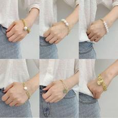 Crystal Bracelet, bangle bracelets, Pearl Bracelet, Chain