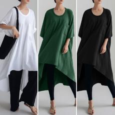 blouse, Plus Size, Sleeve, long shirt