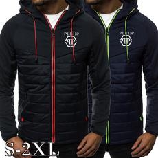Fleece, menzipperjacket, hooded, Winter