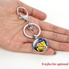 Funny, keychainskeyring, squidgamekeyring, Key Chain