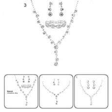 Jewelry, eyecatchingnecklace, Exquisite Earrings, Bracelet
