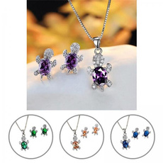 womennecklaceset, earringsnecklace, studearringsnecklace, Shiny
