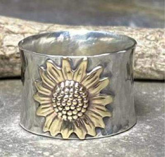 Sterling, Fashion, Jewelry, Sunflowers