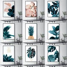 pink, Plants, homewallart, Wall Art