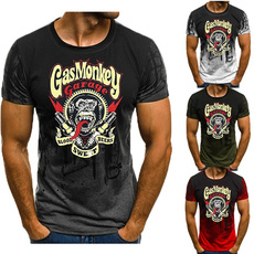 Hip-hop Style, Funny, Plus Size, Shirt