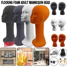 standrack, wig, foammannequinhead, Fashion