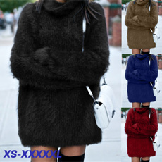 autumnwinter, Fashion, Long Sleeve, Dress